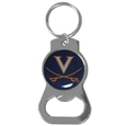 Virginia Cavaliers Bottle Opener Key Chain - Hate searching for a bottle opener, get our Virginia Cavaliers bottle opener key chain and never have to search again! The high polish key chain features a bright team emblem.