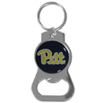 PITT Panthers Bottle Opener Key Chain - Hate searching for a bottle opener, get our PITT Panthers bottle opener key chain and never have to search again! The high polish key chain features a bright team emblem.