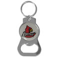Louisville Cardinals Bottle Opener Key Chain - Hate searching for a bottle opener, get our Louisville Cardinals bottle opener key chain and never have to search again! The high polish Louisville Cardinals Bottle Opener Key Chain features a bright team emblem.