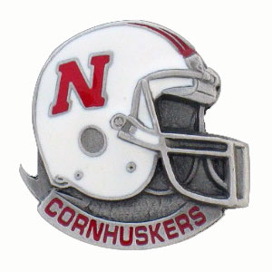 College Team Logo Pin - Nebraska Cornhuskers - Our college pins are finely sculpted with hand enameled detail. Check out our entire line of  collegiate merchandise! Alabama Crimson Tide. Check out our entire line of  licensed sports merchandise! Thank you for shopping with CrazedOutSports.com