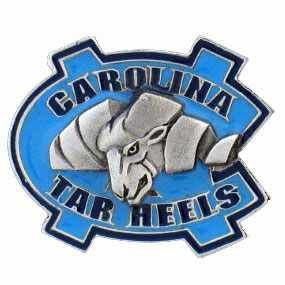 College Team Logo Pin - North Carolina Tar Heels - Our college pins are finely sculpted with hand enameled detail. Check out our entire line of  collegiate merchandise! Alabama Crimson Tide. Check out our entire line of  licensed sports merchandise! Thank you for shopping with CrazedOutSports.com