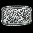 Jack Daniels Enameled Belt Buckle