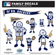 Milwaukee Brewers Family Decal Set Large
