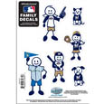 Milwaukee Brewers Family Decal Set Small