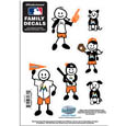 Miami Marlins Family Decal Set Small