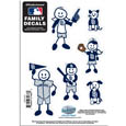 San Diego Padres Family Decal Set Small
