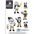 Pittsburgh Pirates Family Decal Set Small