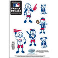 Texas Rangers Family Decal Set Small