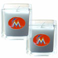 Miami Marlins Scented Candle Set
