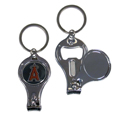Los Angeles Angels of Anaheim Nail Care/Bottle Opener Key Chain