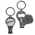 Milwaukee Brewers Nail Care/Bottle Opener Key Chain