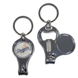 Los Angeles Dodgers Nail Care/Bottle Opener Key Chain