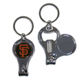 San Francisco Giants Nail Care/Bottle Opener Key Chain