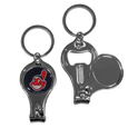 Cleveland Indians Nail Care/Bottle Opener Key Chain
