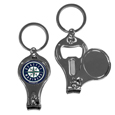 Seattle Mariners Nail Care/Bottle Opener Key Chain