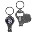 San Diego Padres Nail Care/Bottle Opener Key Chain