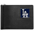 Los Angeles Dodgers Leather Bill Clip Wallet