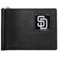 San Diego Padres Leather Bill Clip Wallet