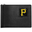 Pittsburgh Pirates Leather Bill Clip Wallet