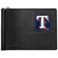 Texas Rangers Leather Bill Clip Wallet