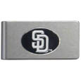 San Diego Padres Brushed Metal Money Clip
