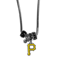 Pittsburgh Pirates Euro Bead Necklace