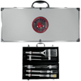Boston Red Sox 8 pc Stainless Steel BBQ Set w/Metal Case