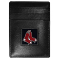 Boston Red Sox Leather Money Clip/Cardholder