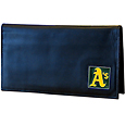 Oakland Athletics Deluxe Leather Checkbook Cover