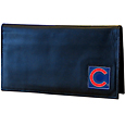 Chicago Cubs Deluxe Leather Checkbook Cover