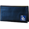 Los Angeles Dodgers Deluxe Leather Checkbook Cover