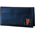San Francisco Giants Deluxe Leather Checkbook Cover
