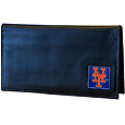 New York Mets Deluxe Leather Checkbook Cover