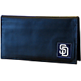 San Diego Padres Deluxe Leather Checkbook Cover