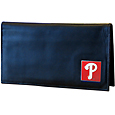 Philadelphia Phillies Deluxe Leather Checkbook Cover
