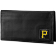 Pittsburgh Pirates Deluxe Leather Checkbook Cover