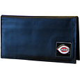Cincinnati Reds Deluxe Leather Checkbook Cover