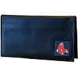 Boston Red Sox Deluxe Leather Checkbook Cover