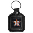 Houston Astros Square Leatherette Key Chain