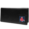 Boston Red Sox Leather Checkbook Cover