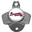 Atlanta Braves Wall Mounted Bottle Opener