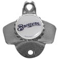 Milwaukee Brewers Wall Mounted Bottle Opener
