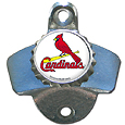 St. Louis Cardinals Wall Mounted Bottle Opener