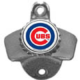 Chicago Cubs Wall Mounted Bottle Opener