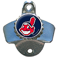 Cleveland Indians Wall Mounted Bottle Opener