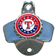 Texas Rangers Wall Mounted Bottle Opener
