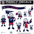 Houston Texans Family Decal Set Large