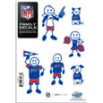 Buffalo Bills Family Decal Set Small