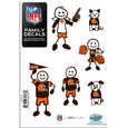 Cleveland Browns Family Decal Set Small