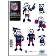 Houston Texans Family Decal Set Small